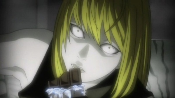 Tags: Anime, DEATH NOTE, Mello, Chocolate Bar, Screenshot, Wallpaper, Facebook Cover