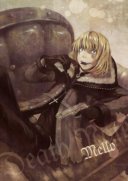 Tags: Anime, Haku (Laterna Magica), DEATH NOTE, Mello, Fanart, Fanart From Pixiv, Pixiv