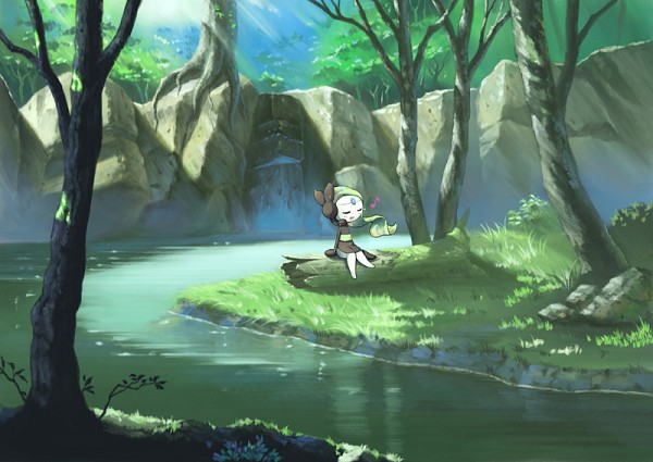 Tags: Anime, Pixiv Id 1962340, Pokémon, Meloetta, Legendary Pokémon, Pixiv, Fanart From Pixiv, Fanart