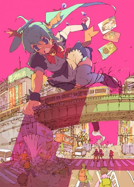 Tags: Anime, Kitano Yuusuke, Melon-chan's Growth Diary, Melon-chan, Giant, Pixiv