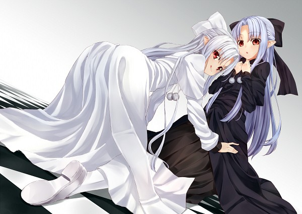Tags: Anime, Pixiv Id 4236163, TYPE-MOON, French-Bread (Studio), Melty Blood, White Len, Len (Tsukihime)