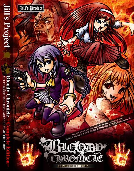 Tags: Anime, Project.C.K., TYPE-MOON, French-Bread (Studio), Melty Blood, Kishima Kouma, Sion Eltnam Atlasia, Tohno Akiha, Arcueid Brunestud, Punk