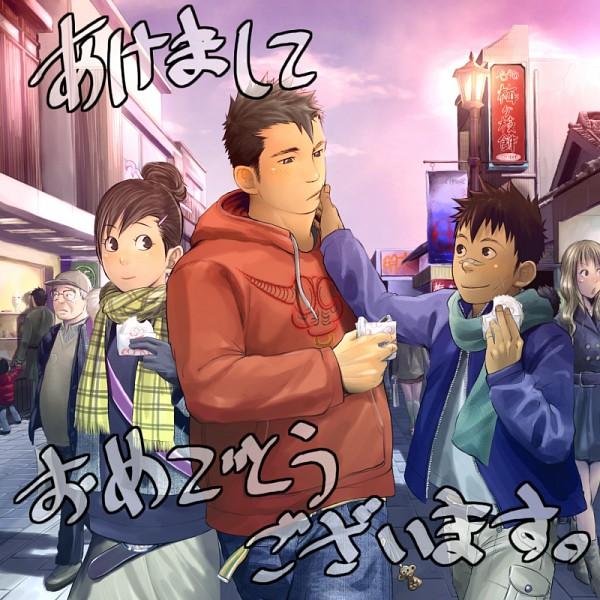 Tags: Anime, Mentaiko, Tachikawa Shikou, Ukeno Taiga, Aibara Manami