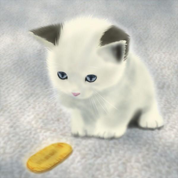 Tags: Anime, Pixiv Id 223298, Pokémon, Meowth, Rug, Coin, Pixiv