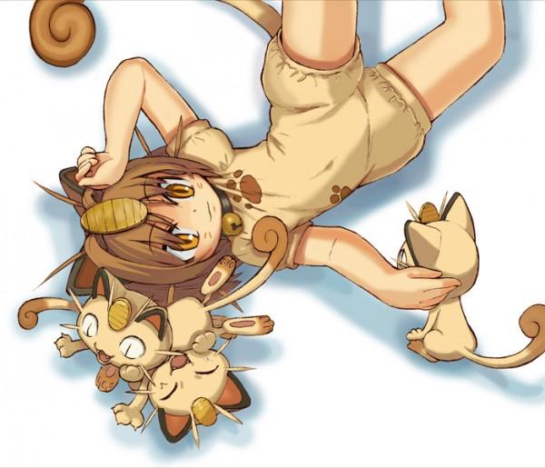 Tags: Anime, Sabaku Chitai, Pokémon, Meowth