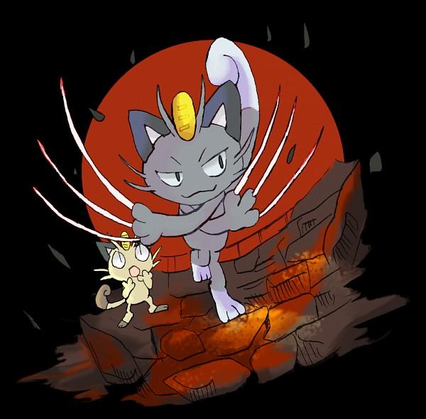 Tags: Anime, Pixiv Id 210476, Pokémon, Meowth, PNG Conversion, Alola Form, Pixiv, Fanart From Pixiv, Fanart