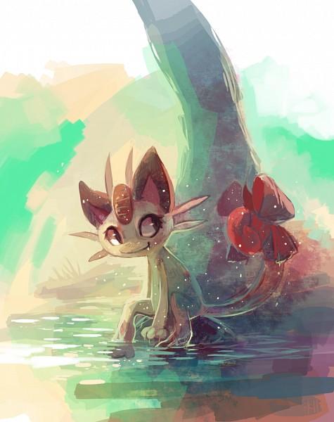 Tags: Anime, Purplekecleon, Pokémon, Meowth, Pixiv