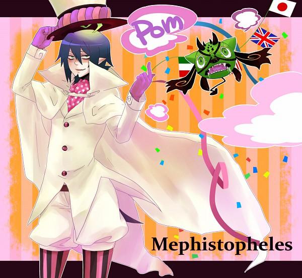 Tags: Anime, Ao no Exorcist, Mephisto Pheles, Puffy Shorts