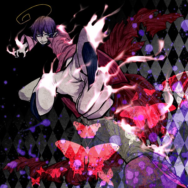 Tags: Anime, Puppetxxx, Ao no Exorcist, Mephisto Pheles, Pixiv, Fanart