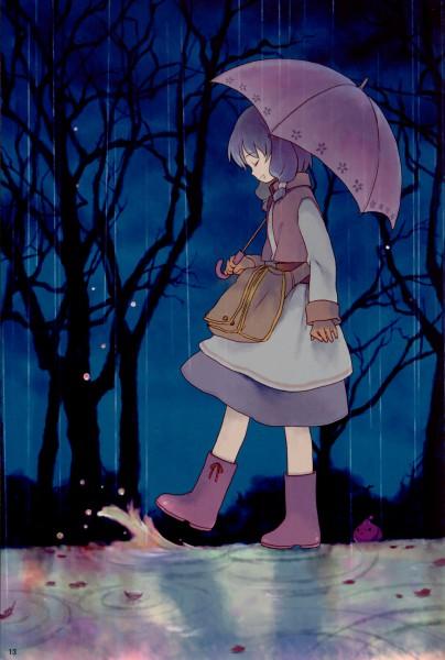 Tags: Anime, Furu, RAGNARÖK ONLINE, Poring, Merchant (RAGNARÖK ONLINE), Puddle, Rain Boots, Fanart, Mobile Wallpaper, Pixiv, First Class