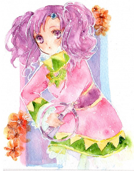 Tags: Anime, Timo (Pixiv 719511), Tales of Eternia, Meredy, Watercolor, Traditional Media
