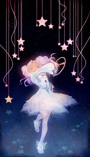 Tags: Anime, Sarai, Tales of Eternia, Meredy, Hanging Star, Pixiv, Mobile Wallpaper, Fanart