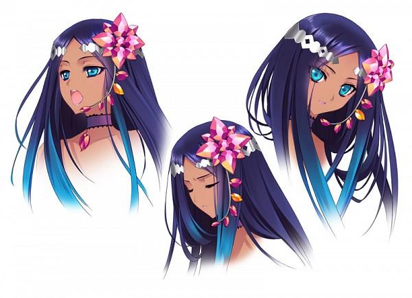 Tags: Anime, CARNELIAN, VOCALOID, Merli, Official Art, Character Sheet