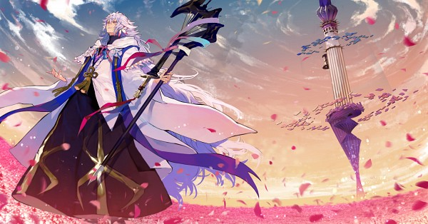 Tags: Anime, Nozaki Tsubata, Fate/Grand Order, Merlin (Fate/stay night), Tower