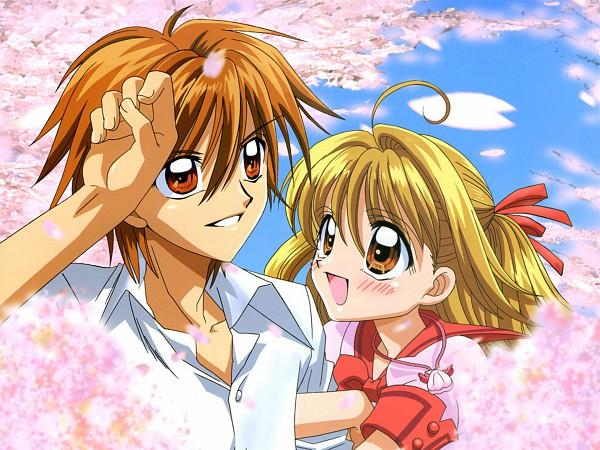 Tags: Anime, Mermaid Melody Pichi Pichi Pitch, Doumoto Kaito, Nanami Lucia, Official Art, Wallpaper