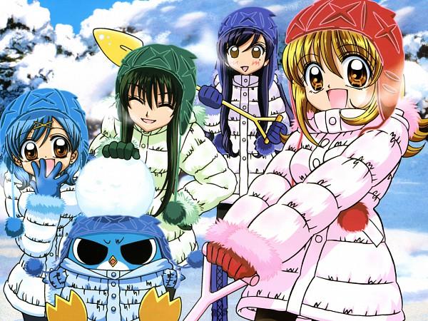 Tags: Anime, Mermaid Melody Pichi Pichi Pitch, Hippo, Touin Rina, Houshou Hanon, Nanami Lucia, Karen (Mermaid Melody), Official Art