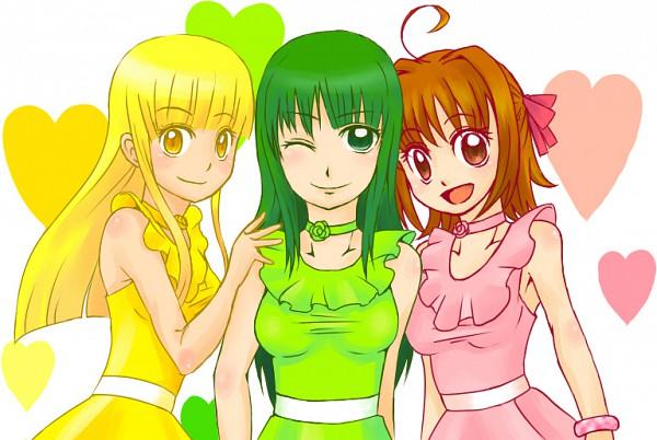 Tags: Anime, Mermaid Melody Pichi Pichi Pitch, Coco (Mermaid Melody), Touin Rina, Nanami Lucia, Fanart