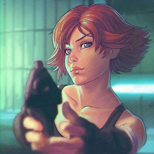Meryl Silverburgh - Metal Gear Solid