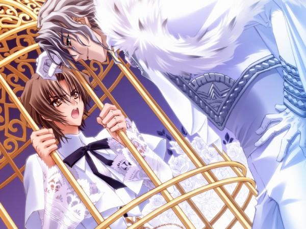 Tags: Anime, CARNELIAN, Messiah - Paranoia Paradox, Messiah, Katsuragi Takuto, Koh Haishima, Prisoner, CG Art, Official Art