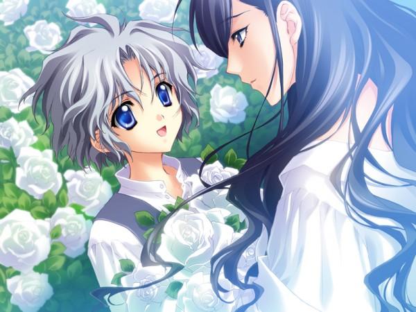 Tags: Anime, CARNELIAN, Messiah - Paranoia Paradox, Messiah, Koh Haishima, Veronica (Messiah), CG Art, Official Art