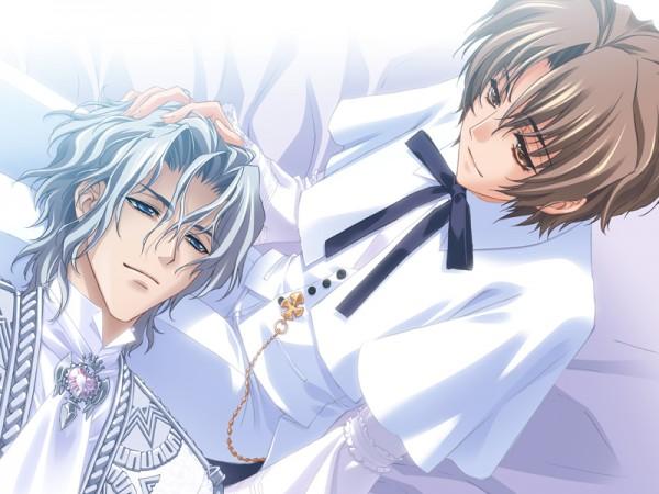 Tags: Anime, CARNELIAN, Messiah - Paranoia Paradox, Messiah, Koh Haishima, Katsuragi Takuto, Clergy, Official Art, CG Art