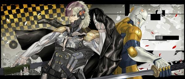 Tags: Anime, Pixiv Id 1186692, Metal Gear Solid, Gray Fox, Raiden