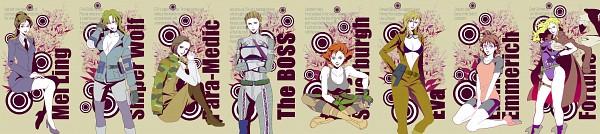 Tags: Anime, Yoshii Kyoko, Metal Gear Solid, Mei Ling, Eva (Metal Gear Solid), Meryl Silverburgh, The Boss, Emma Emmerich, Sniper Wolf, Fortune (Metal Gear Solid), Para-medic