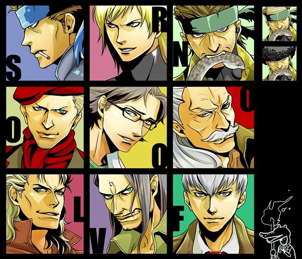 Tags: Anime, Metal Gear Solid, Hal Emmerich, Vamp, Gray Fox, Big Boss, Raiden, Liquid Snake, Solid Snake, Revolver Ocelot