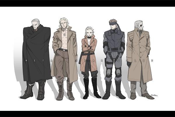 Tags: Anime, Pixiv Id 4192645, Metal Gear Solid, Liquid Snake, Eva (Metal Gear Solid), Solid Snake, Big Boss, Solidus Snake, Koukaku Kidoutai GHOST IN THE SHELL (Parody), Pixiv