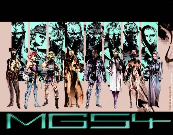 Tags: Anime, Shinkawa Yoji, Metal Gear Solid, Big Boss, Raiden, Revolver Ocelot, Solid Snake, Hal Emmerich, Sunny Emmerich, Meryl Silverburgh