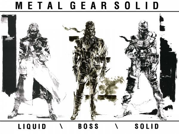 Tags: Anime, Shinkawa Yoji, Metal Gear Solid, Big Boss, Liquid Snake, Solid Snake