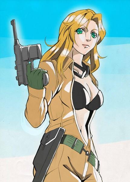 Tags: Anime, KONAMI, Metal Gear Solid, Eva (Metal Gear Solid)