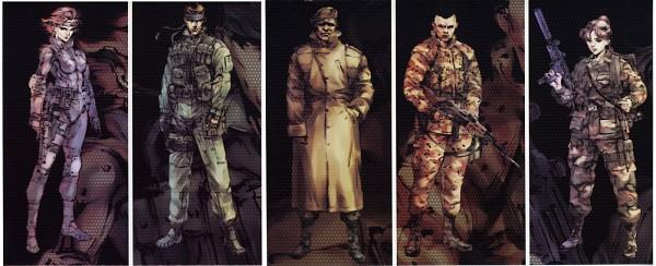Tags: Anime, Metal Gear Solid, Meryl Silverburgh, Solid Snake, Mei Ling
