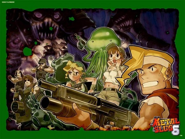 Tags: Anime, Metal Slug, Clark Still, Marchrius Dennis Rossi, Fiolina Germi, Kasamoto Eri, Ralf Jones