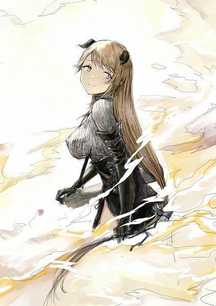 Tags: Anime, y.u, Arknights, Meteorite (Arknights)