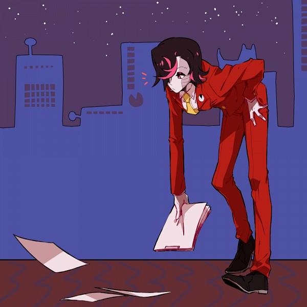 Tags: Anime, Yukiblue94, Undertale, Mettaton EX, Mettaton, Holding Paper, Tumblr, PNG Conversion, Fanart