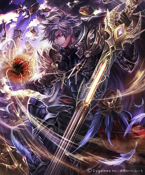 Tags: Anime, Pixiv Id 7045815, Cygames, Shingeki no Bahamut, Metztli, Official Art, Pixiv, Official Card Illustration