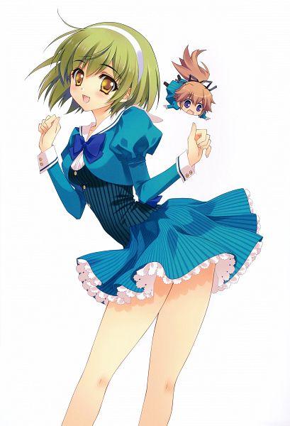 Tags: Anime, CARNELIAN, MiX!, Jewel CARNELIAN ARTWORKS, Suga Ran, Mutsuki Aoi, Suwa Ranmaru, Official Art