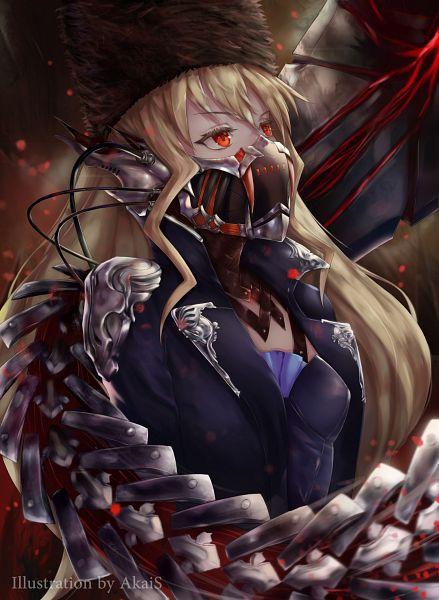 Tags: Anime, Pixiv Id 25192176, CODE VEIN, Mia Karnstein, Metal Wings, Fanart From Pixiv, Pixiv, Fanart