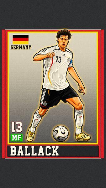 Tags: Anime, Hakim Bezri, Michael Ballack, Mobile Wallpaper, Twitter, Fanart, 2006 FIFA World Cup, Soccer Players
