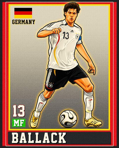 Michael Ballack - Soccer Players
