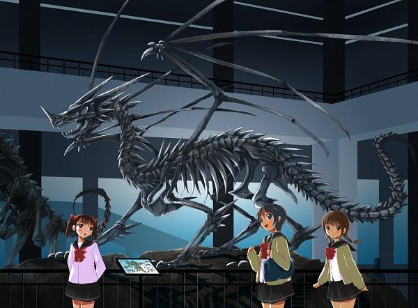 Tags: Anime, Michii Yuuki, Museum, PNG Conversion, Pixiv, Original