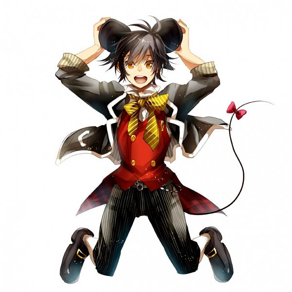 Tags: Anime, Fuu Takara, Tales of Xillia, Jude Mathis, Mickey Mouse, Tail Ornament, Mickey Mouse (Cosplay), Fanart, Pixiv, Disney
