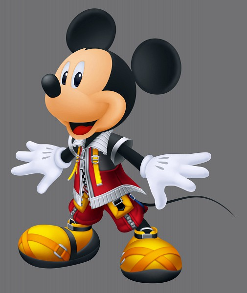 Tags: Anime, SQUARE ENIX, Kingdom Hearts, Mickey Mouse, Official Art, Disney