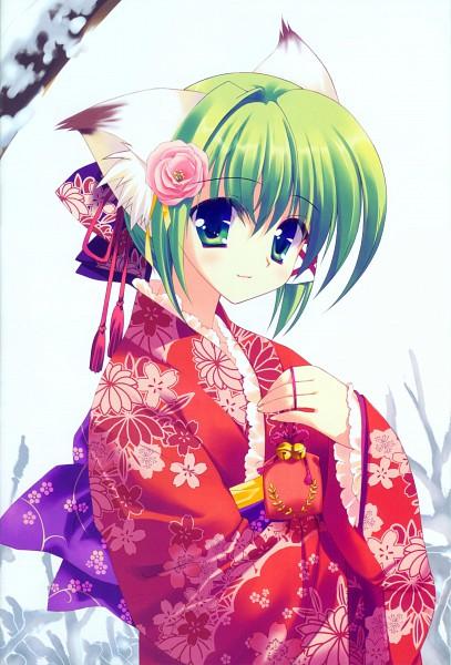 Tags: Anime, Rei (Artist), Greenwood, Midori (Greenwood), Scan