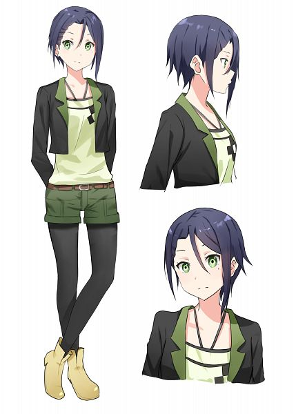 Tags: Anime, Pixiv Id 9290363, Sakura Quest, Midorikawa Maki, Mobile Wallpaper, PNG Conversion