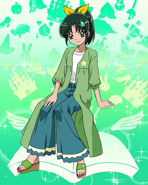 Tags: Anime, Smile Precure!, Precure Tsunagaru Puzzlun, Midorikawa Nao, Cure March