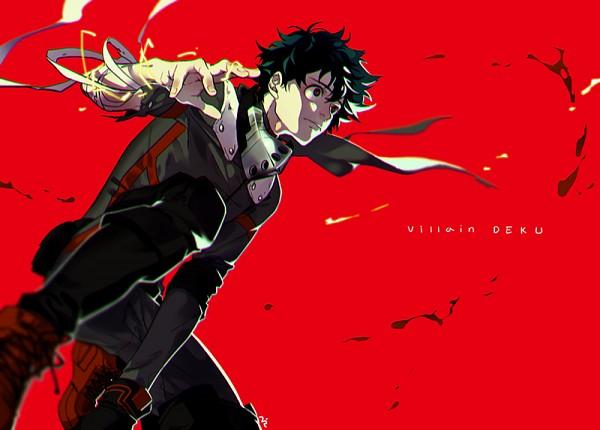 Tags: Anime, niro (Pixiv8537417), Boku no Hero Academia, Midoriya Izuku, Out of Character, Fanart From Pixiv, PNG Conversion, Pixiv, Fanart