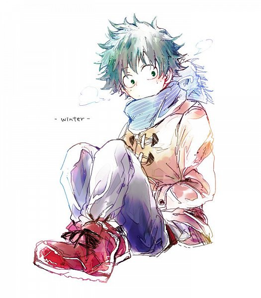 Tags: Anime, Bata (Artist), Boku no Hero Academia, Midoriya Izuku, Twitter, Fanart
