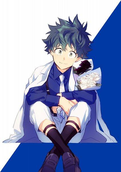 Tags: Anime, hegi, Boku no Hero Academia, Midoriya Izuku, White Day, Twitter, Revision, Fanart